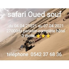 Excursion a  a  Oued souf