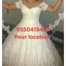 Location Robes blanche